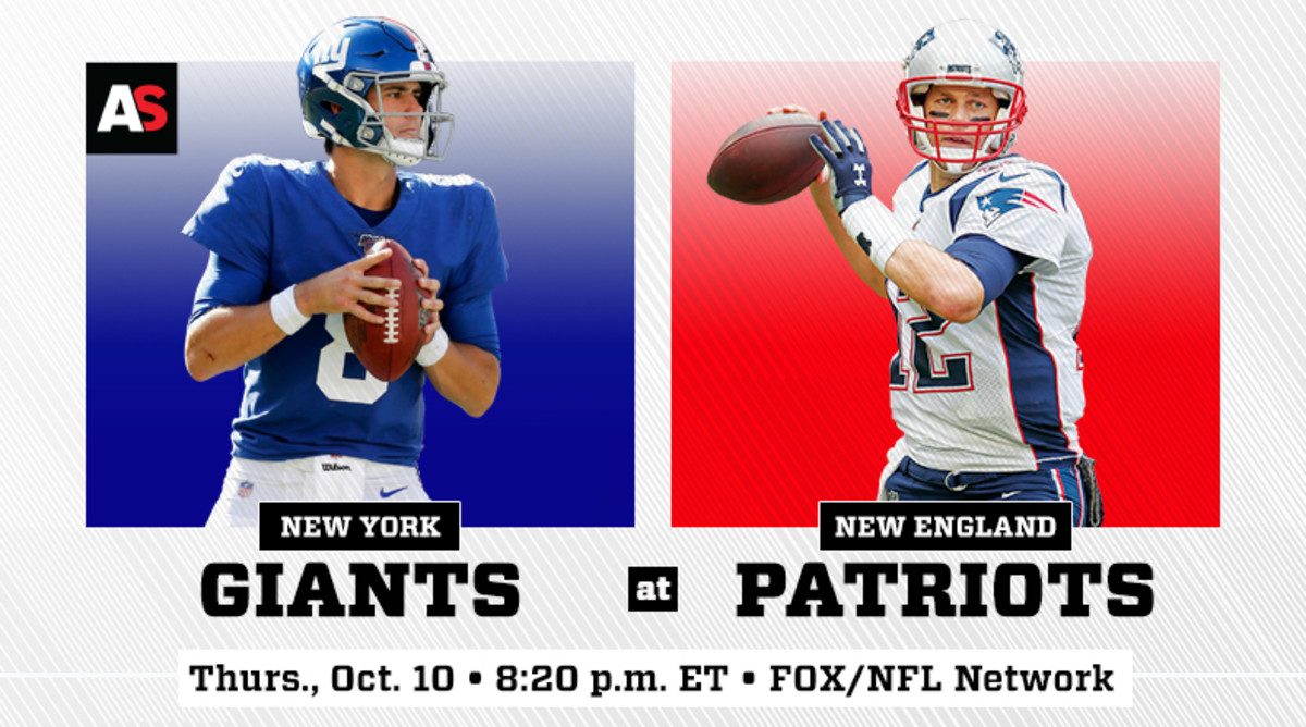 Thursday Night Football: New York Giants vs. New England Patriots Prediction and Preview