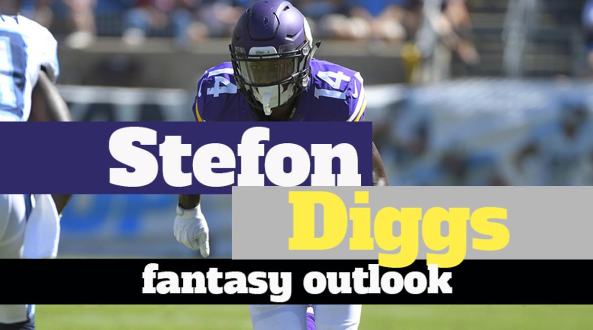 Stefon Diggs: Fantasy Outlook 2019