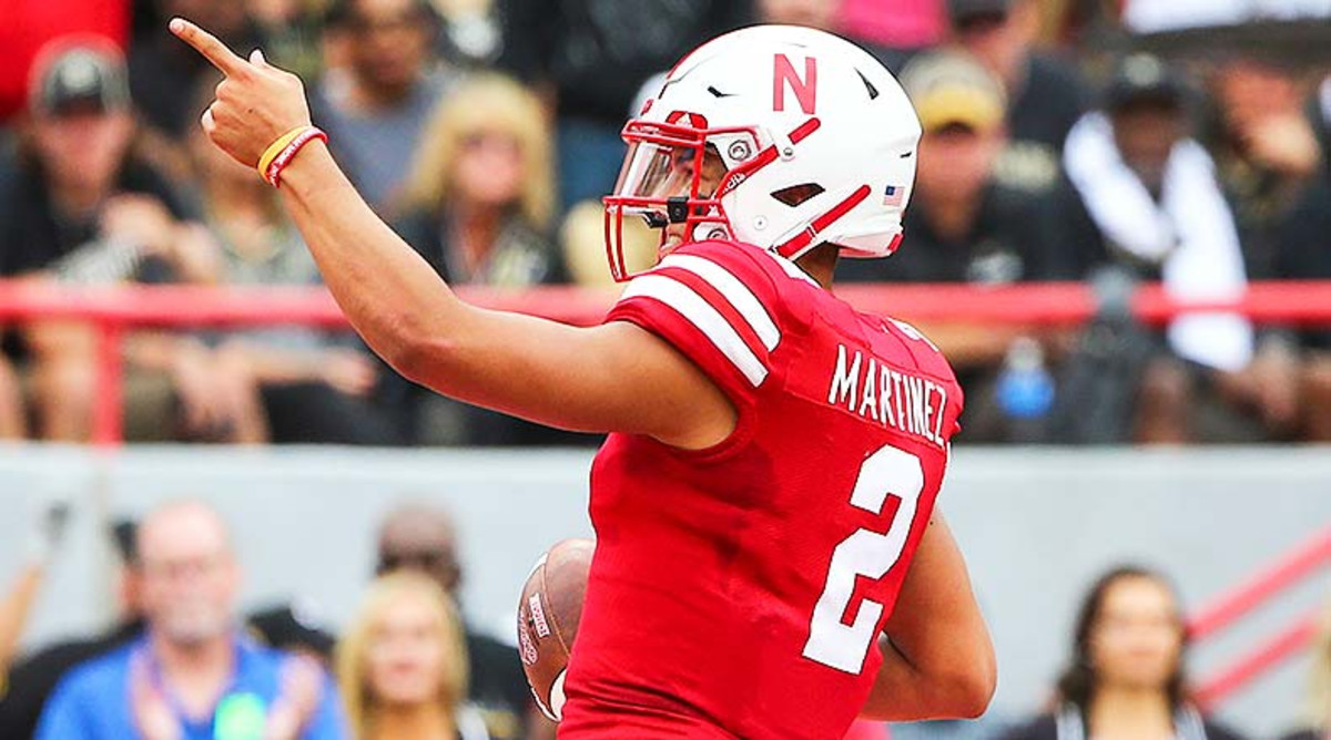 College Fantasy Football: Adrian Martinez