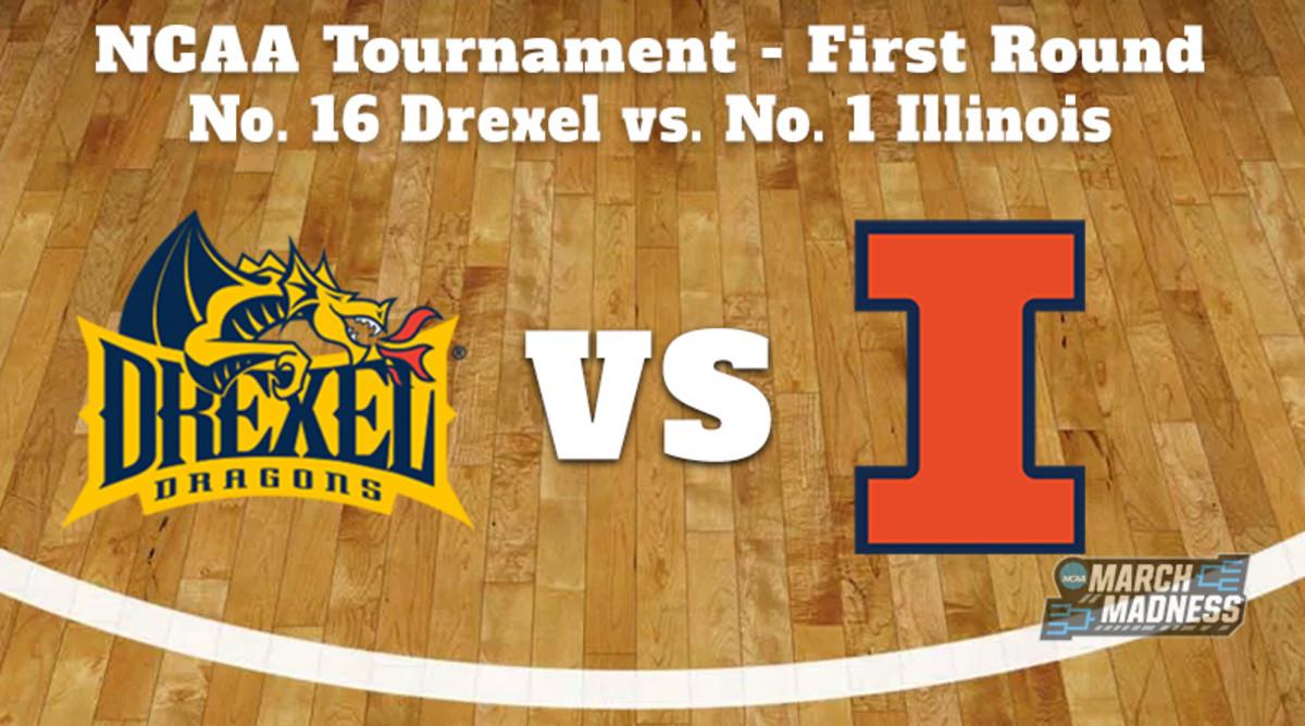 Drexel Dragons vs. Illinois Fighting Illini Prediction: NCAA Tournament First Round Preview
