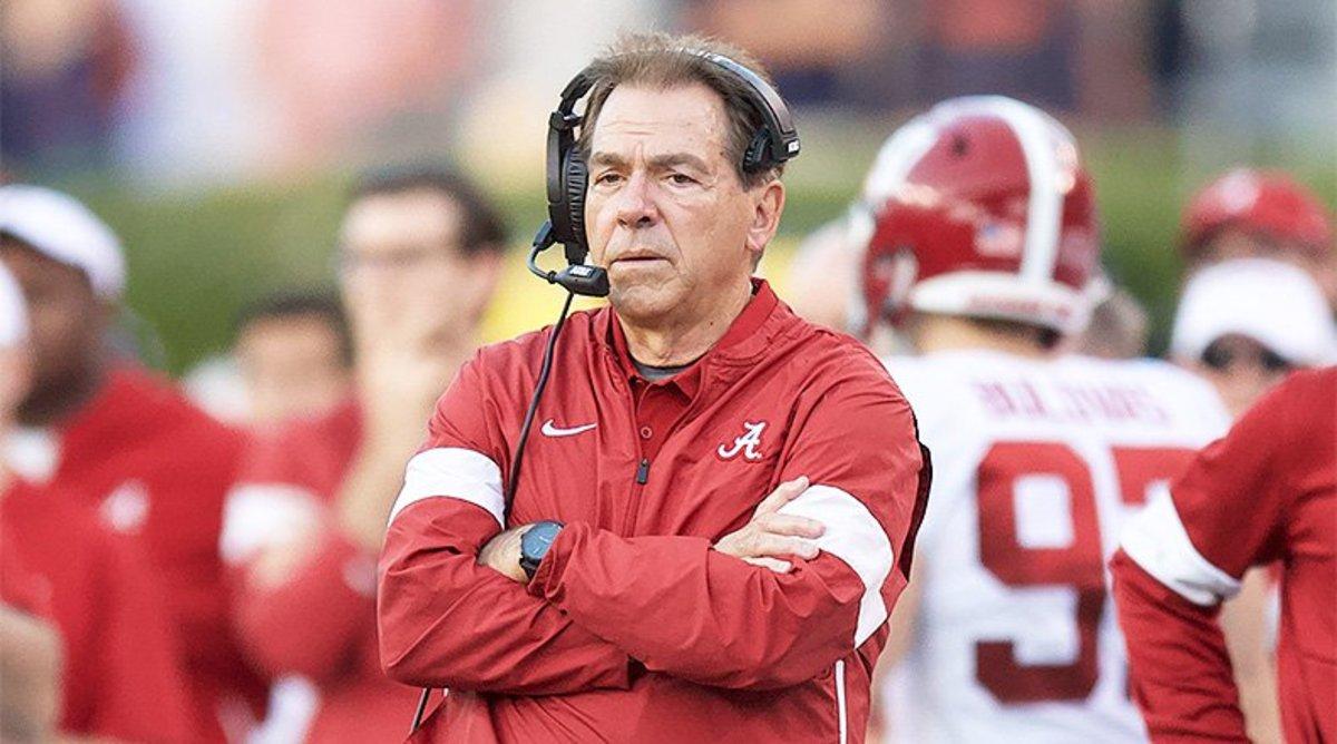 Nick Saban, Alabama Crimson Tide Football