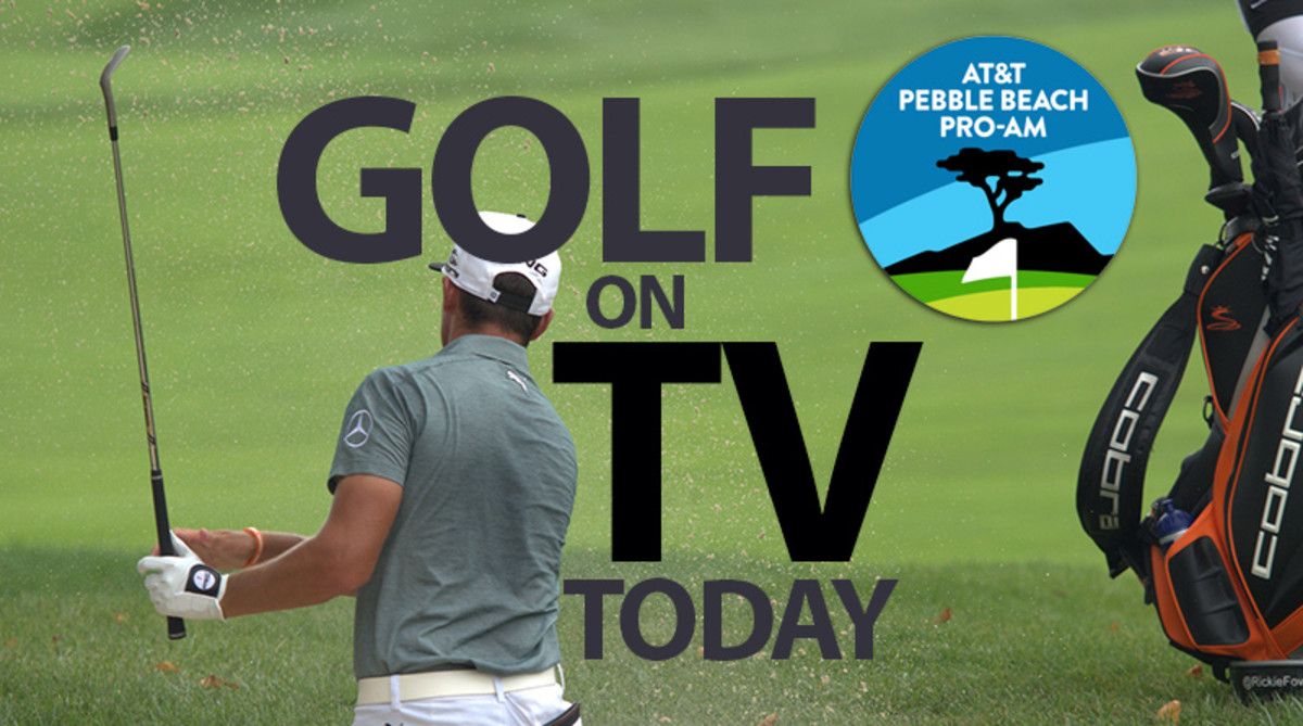 Golf on TV Today (Saturday, Feb. 8): AT&T Pebble Beach Pro-Am
