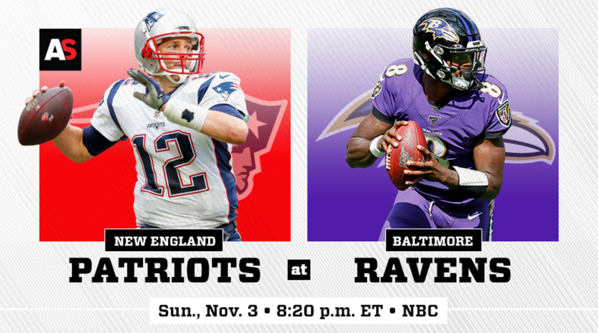 Sunday Night Football: New England Patriots vs. Baltimore Ravens Prediction and Preview