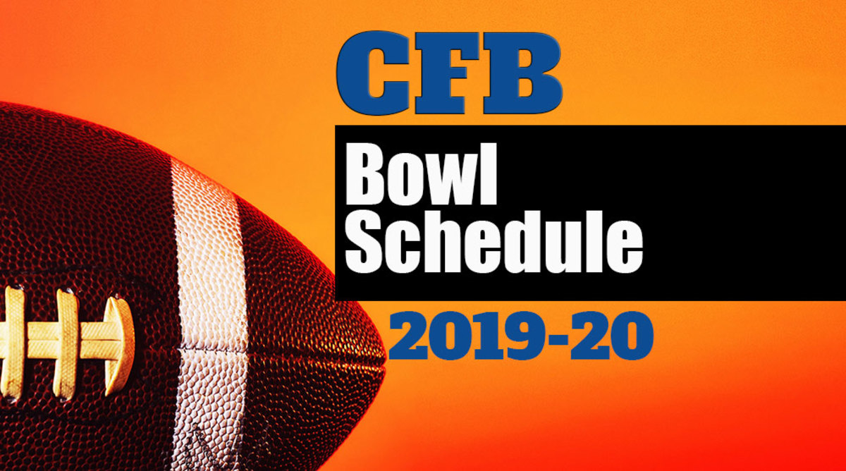 College Football Bowl Schedule for 2019-20
