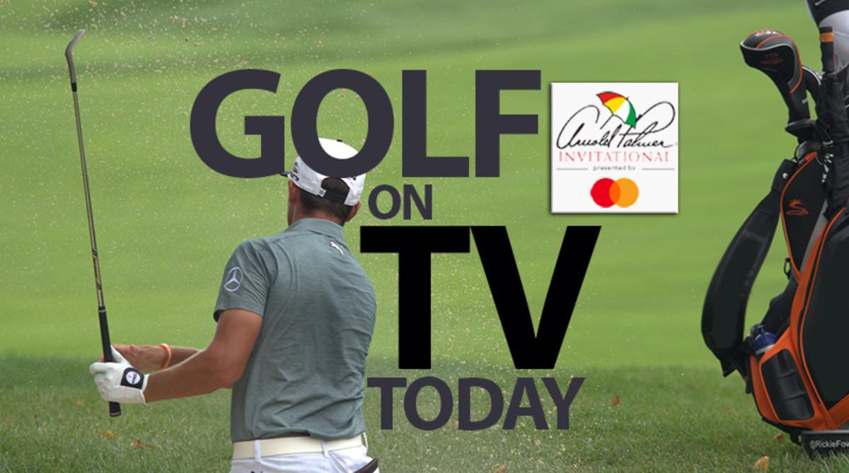 PGA Tour Golf on TV Today, Sunday, March 10, Arnold Palmer Invitational 2019