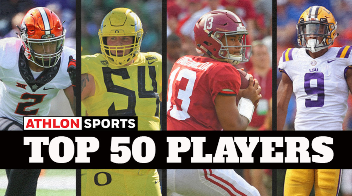 College Football Rankings: Top 50 Players