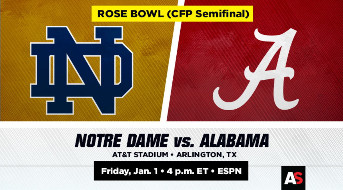 Rose Bowl Prediction and Preview: Notre Dame vs. Alabama