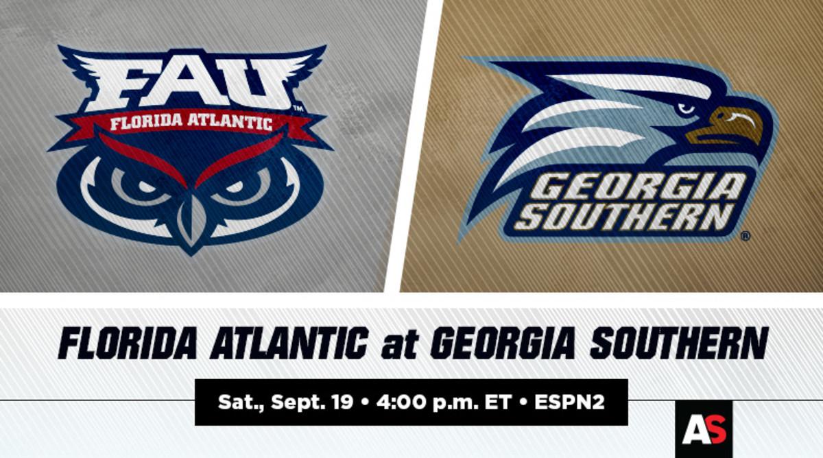 Florida Atlantic (FAU) vs. Georgia Southern Football Prediction and Preview