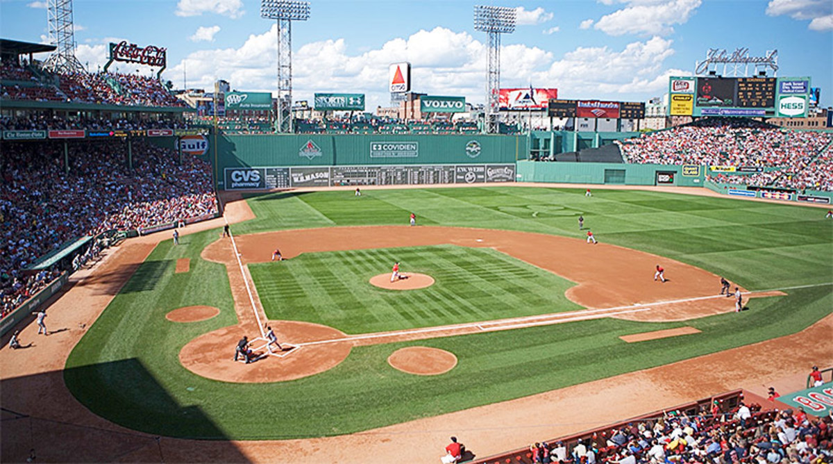 MLB's 10 Oldest Ballparks - Fenway Park