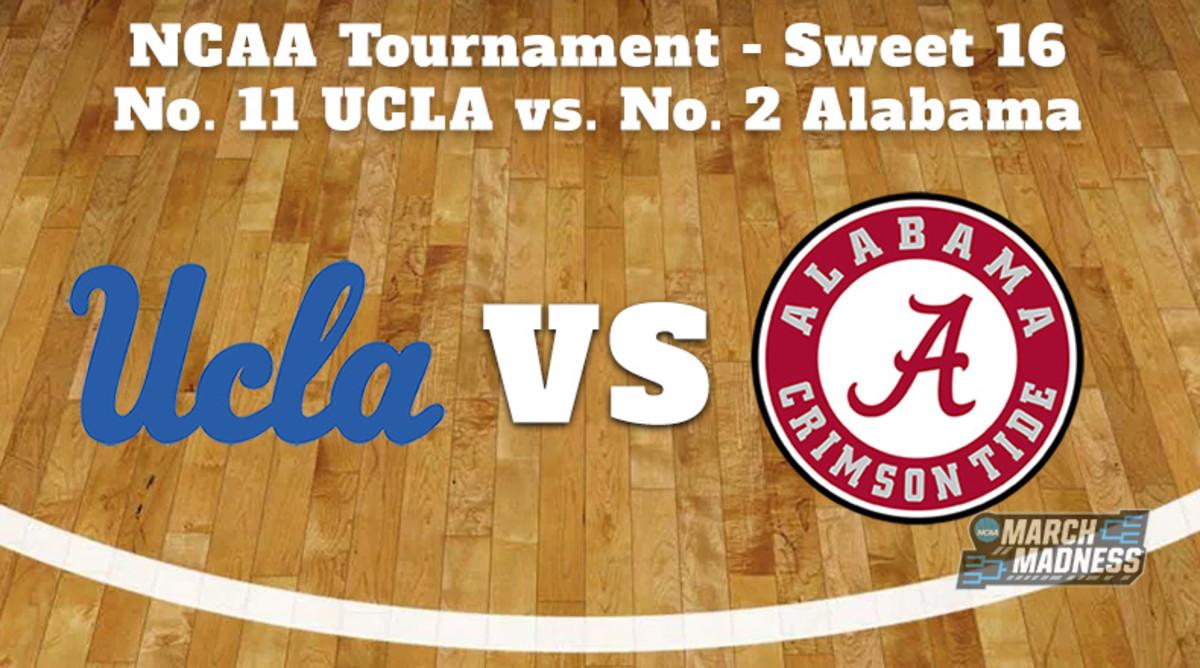 UCLA Bruins vs. Alabama Crimson Tide Prediction: NCAA Tournament Sweet 16 Preview