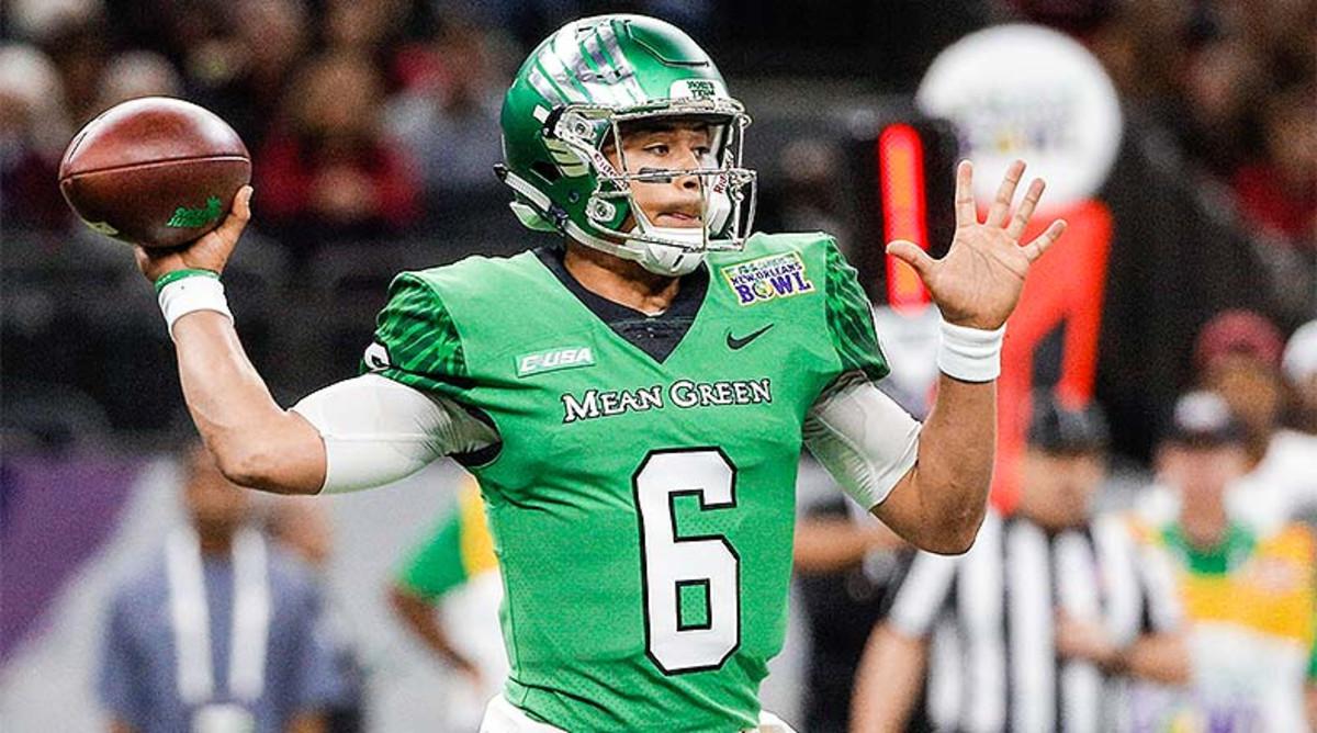 Mason Fine, North Texas Mean Green Football