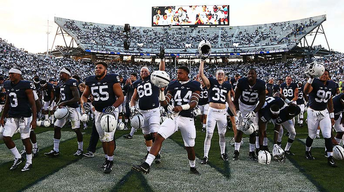 Penn State Ranked No. 14 in Athlon's College Football Top 25