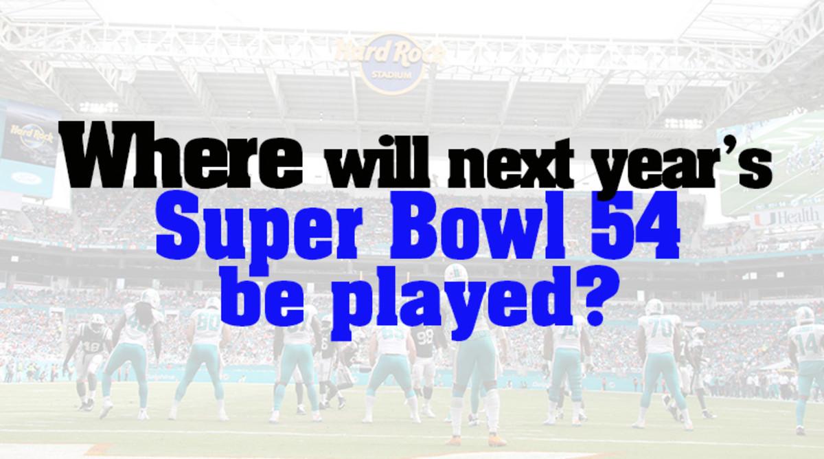 Super Bowl 54 location 2020