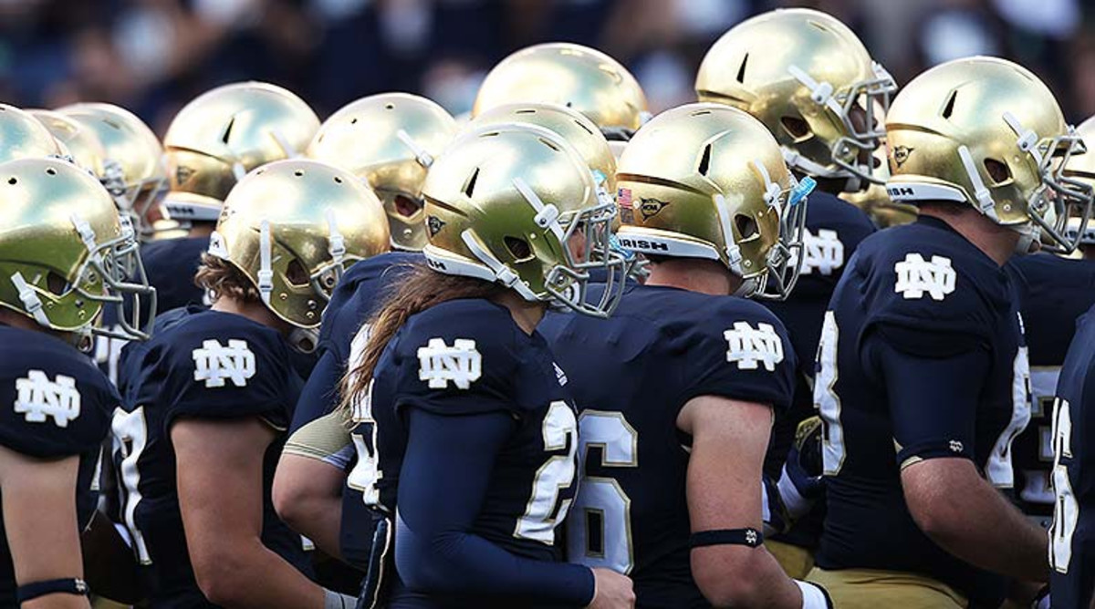 Notre Dame Ranked No. 9 in Athlon's College Football Top 25