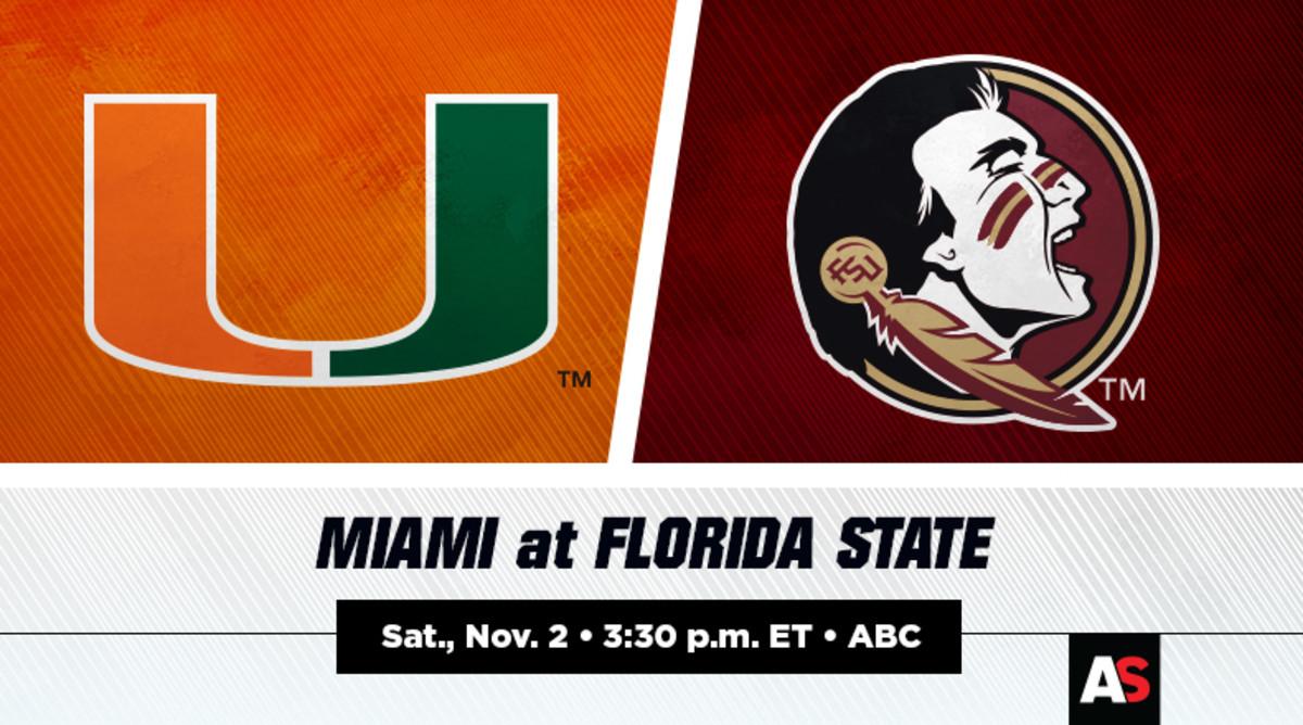 Miami vs. Florida State Football Prediction and Preview