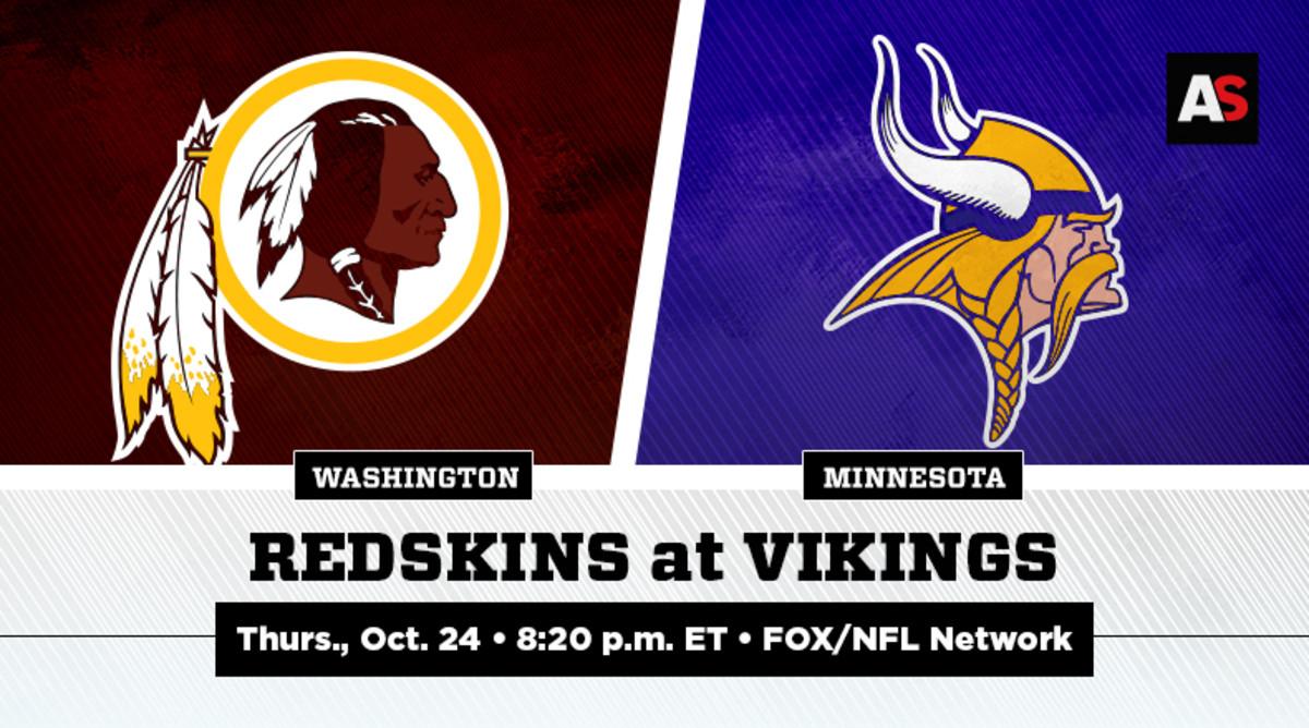 Thursday Night Football: Washington Redskins vs. Minnesota Vikings Prediction and Preview