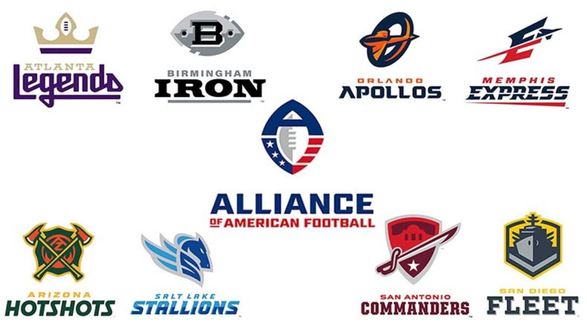 Alliance of American Football (AAF) Teams