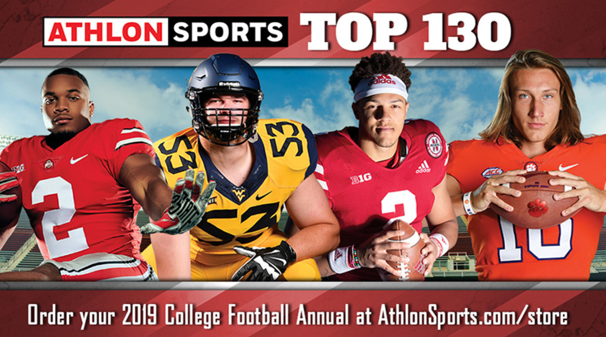 College Football Top 100 Team Rankings for 2019