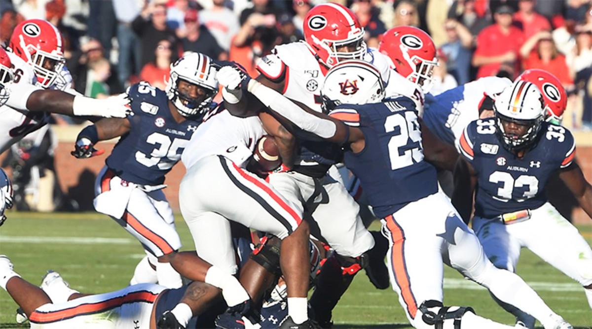 5 Greatest Auburn vs. Georgia College Football Games of All Time