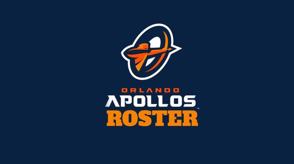 Orlando Apollos Roster (AAF Football)