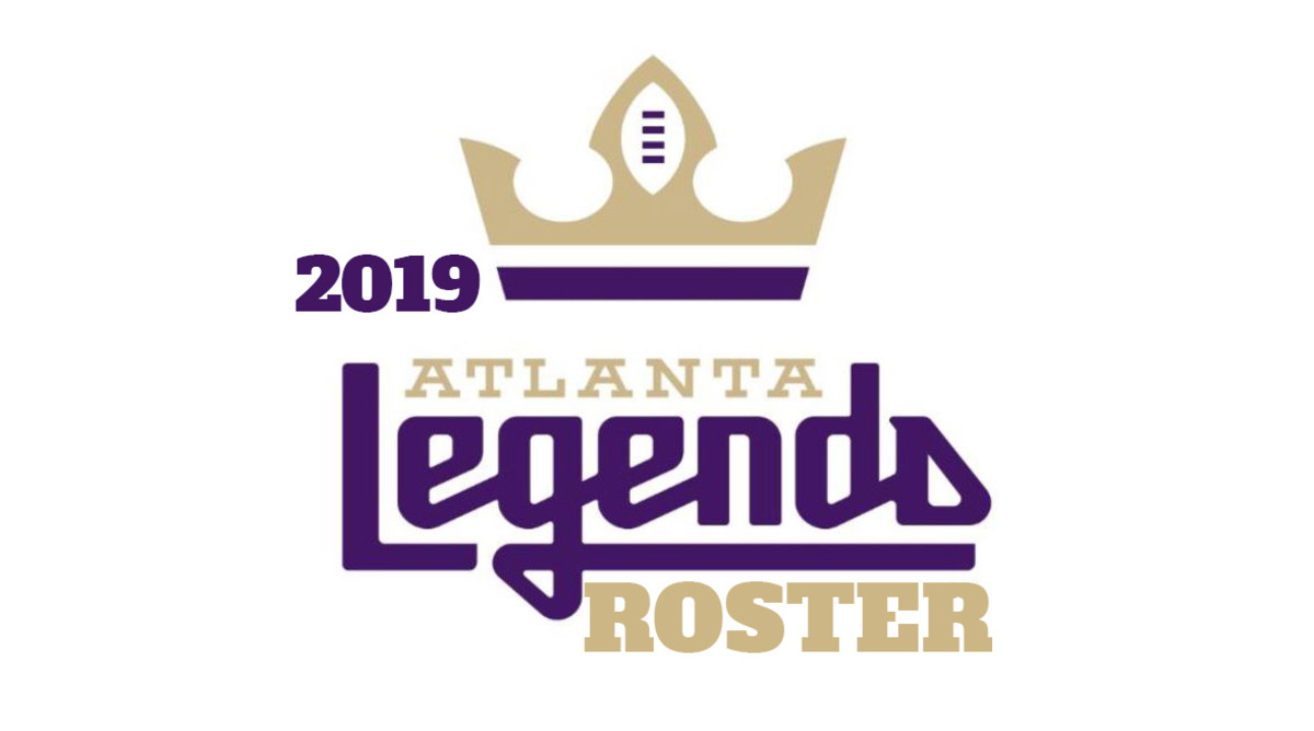 Atlanta Legends Roster (AAF Football)