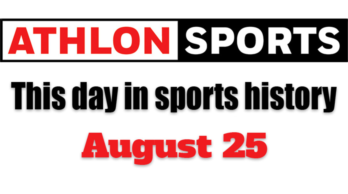 This Day in Sports History: August 25