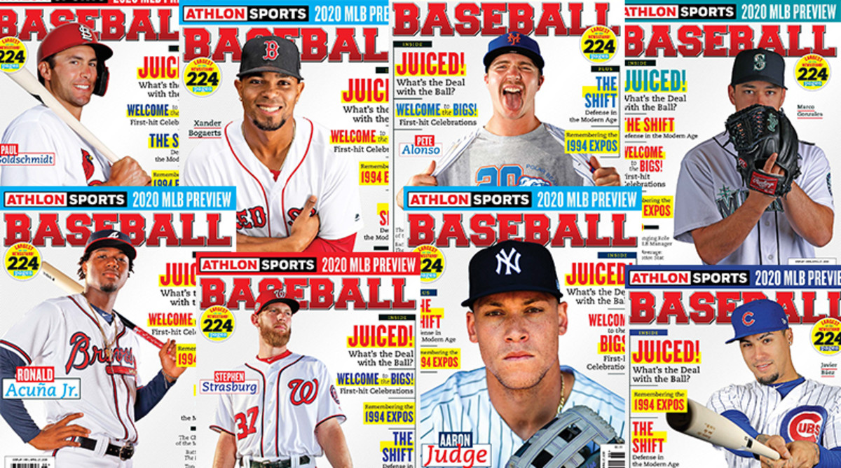 Athlon Sports' 2020 Baseball Preview Magazine is Available Now