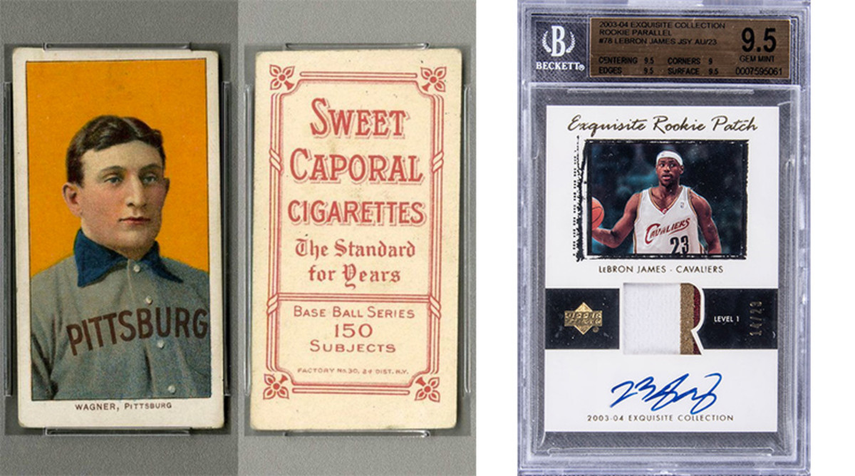 Most Valuable Sports Cards by Sport