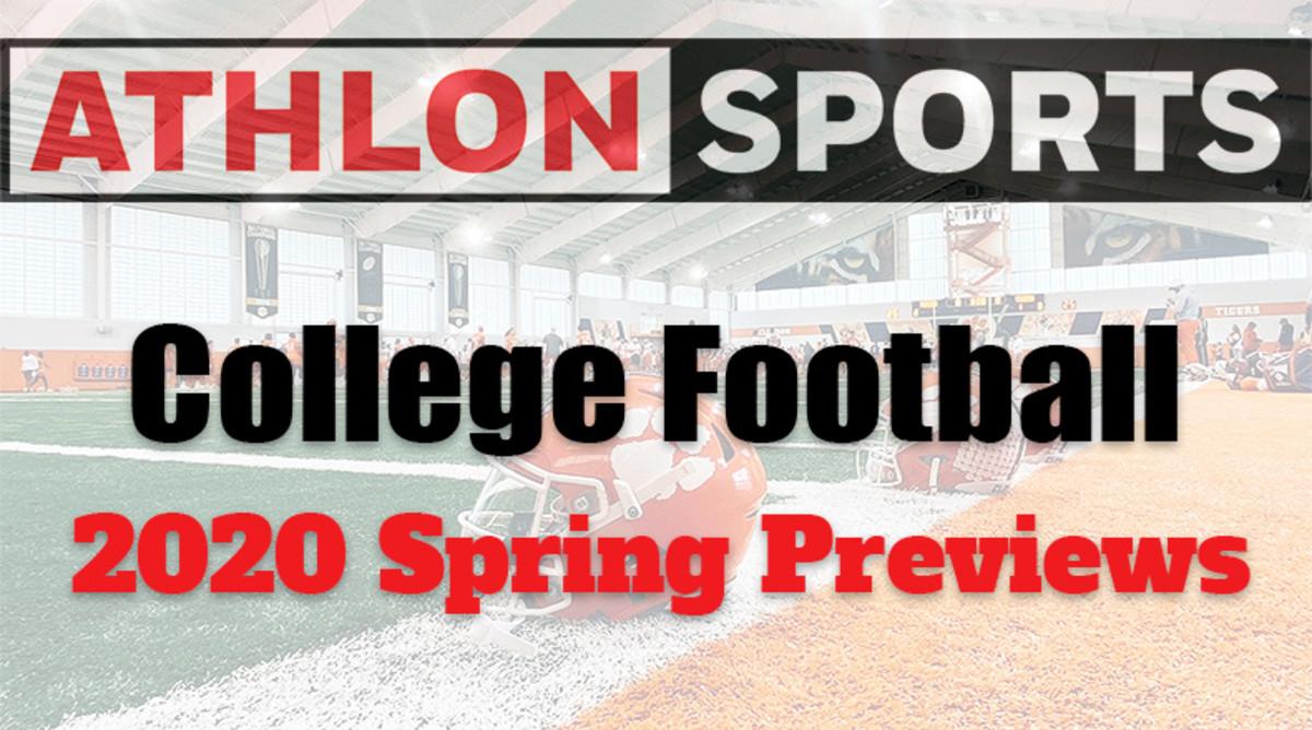 College Football 2020 Team Spring Previews