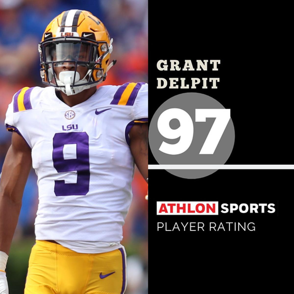 Grant Delpit, LSU  Rating