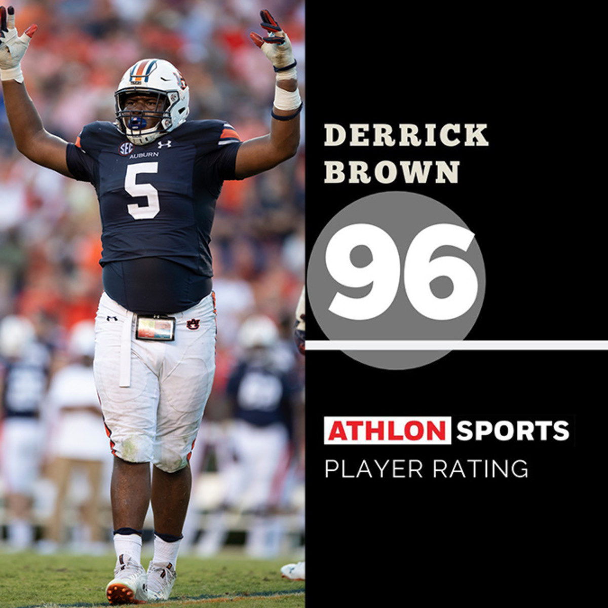 Derrick Brown, Auburn