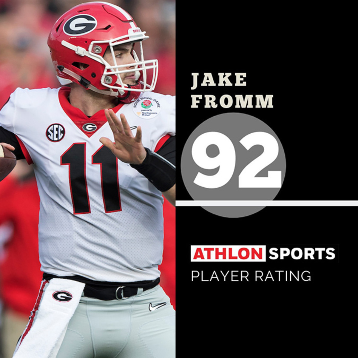 Jake Fromm Madden Rating