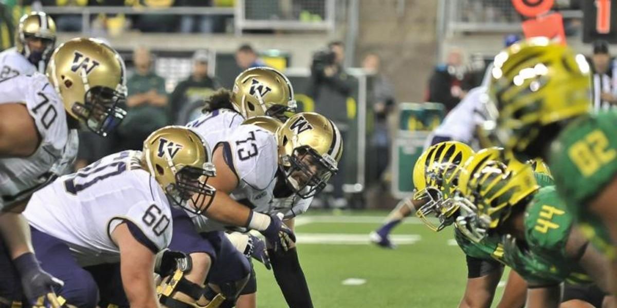 Hostility, and Now Title Implications, Shape the Oregon-Washington Football Rivalry