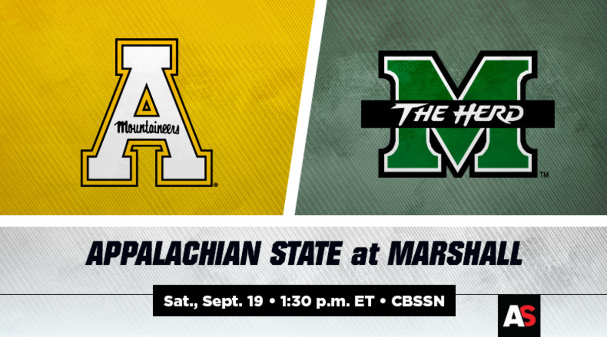 Appalachian State vs. Marshall Football Prediction and Preview