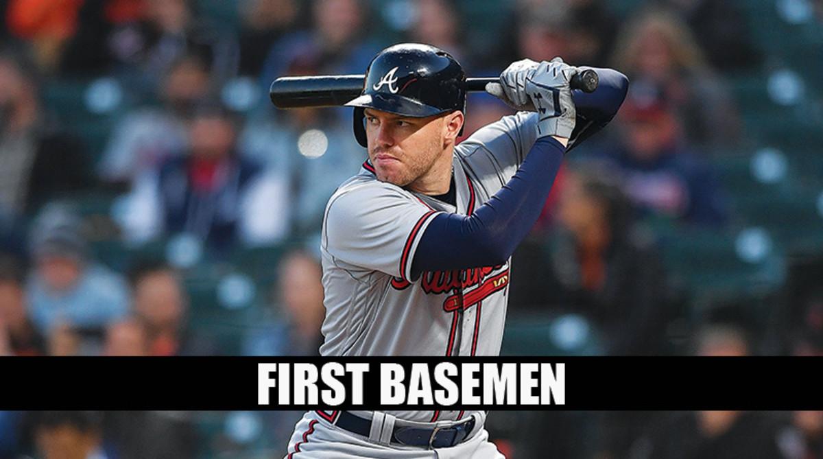 Freddie Freeman: Fantasy Baseball Cheat Sheet First Basemen Rankings 2019