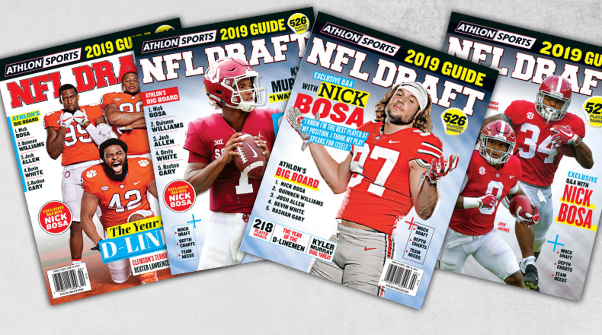 Athlon Sports' 2019 NFL Draft Guide Magazine is Available Now