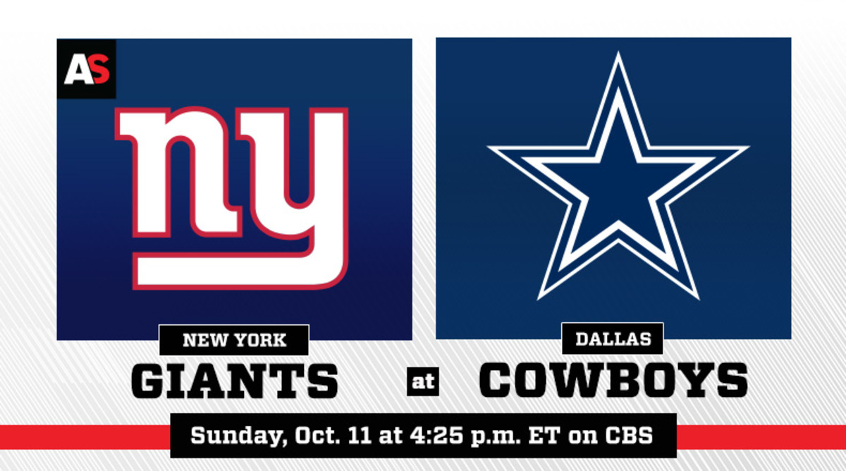 New York Giants vs. Dallas Cowboys Prediction and Preview
