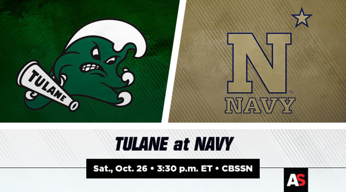 Tulane vs. Navy Football Prediction and Preview