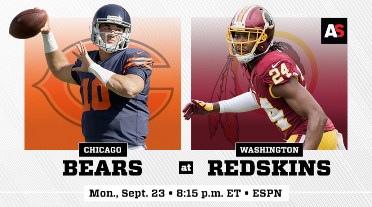 Monday Night Football: Chicago Bears vs. Washington Redskins Prediction and Preview