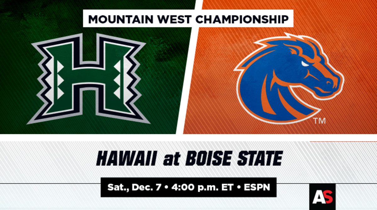 Mountain West Championship Prediction and Preview: Hawaii vs. Boise State