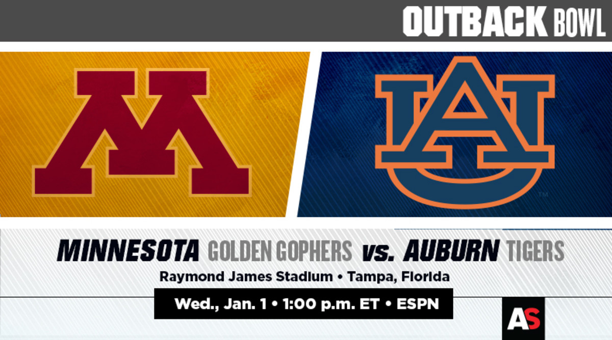 Outback Bowl Prediction and Preview: Minnesota vs. Auburn