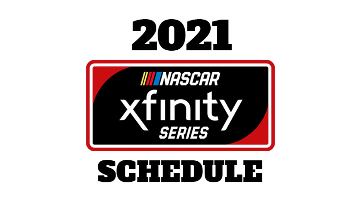 2021 NASCAR Xfinity Series Schedule