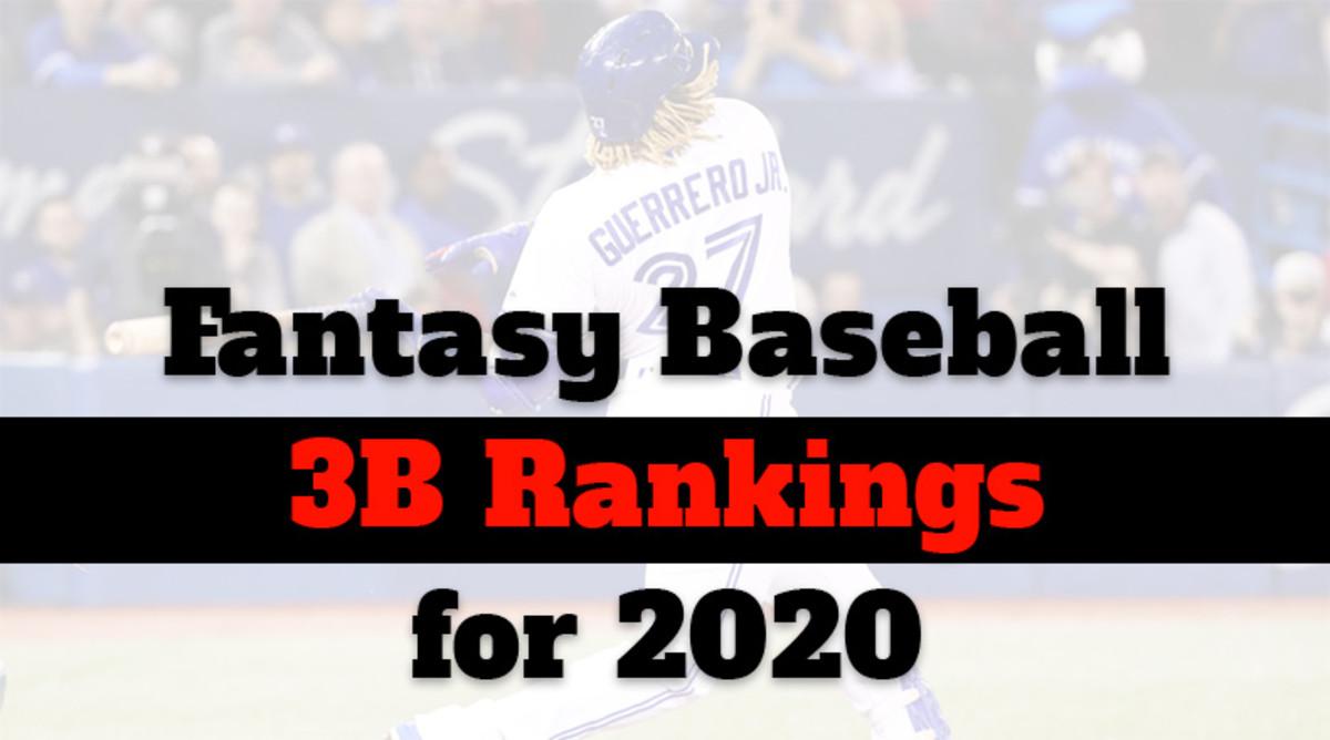 Fantasy Baseball Cheat Sheet: Third Base Rankings for 2020