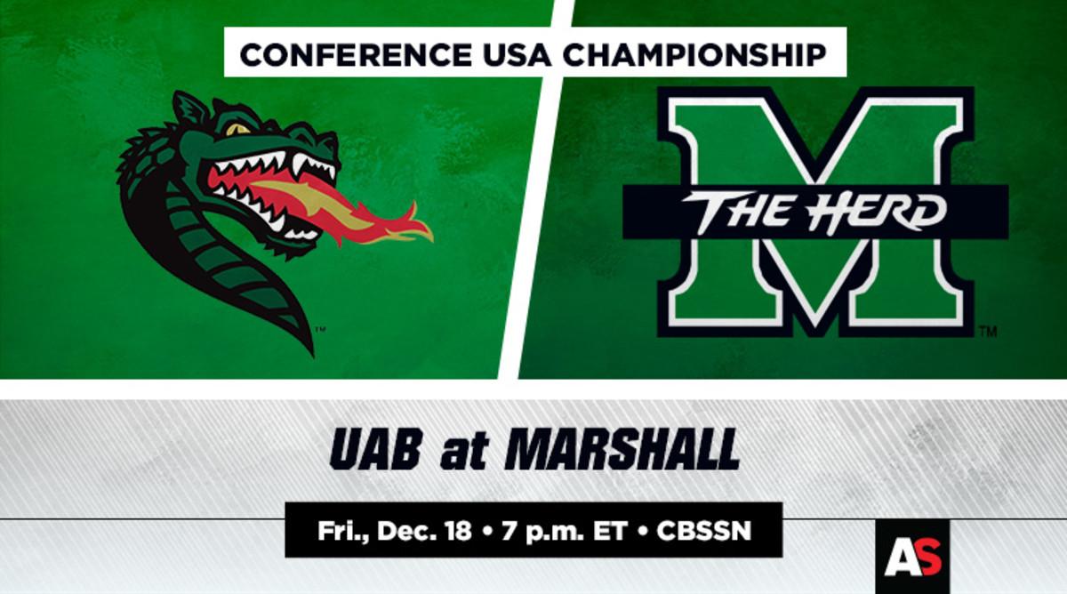 Conference USA Championship Prediction and Preview: UAB vs. Marshall