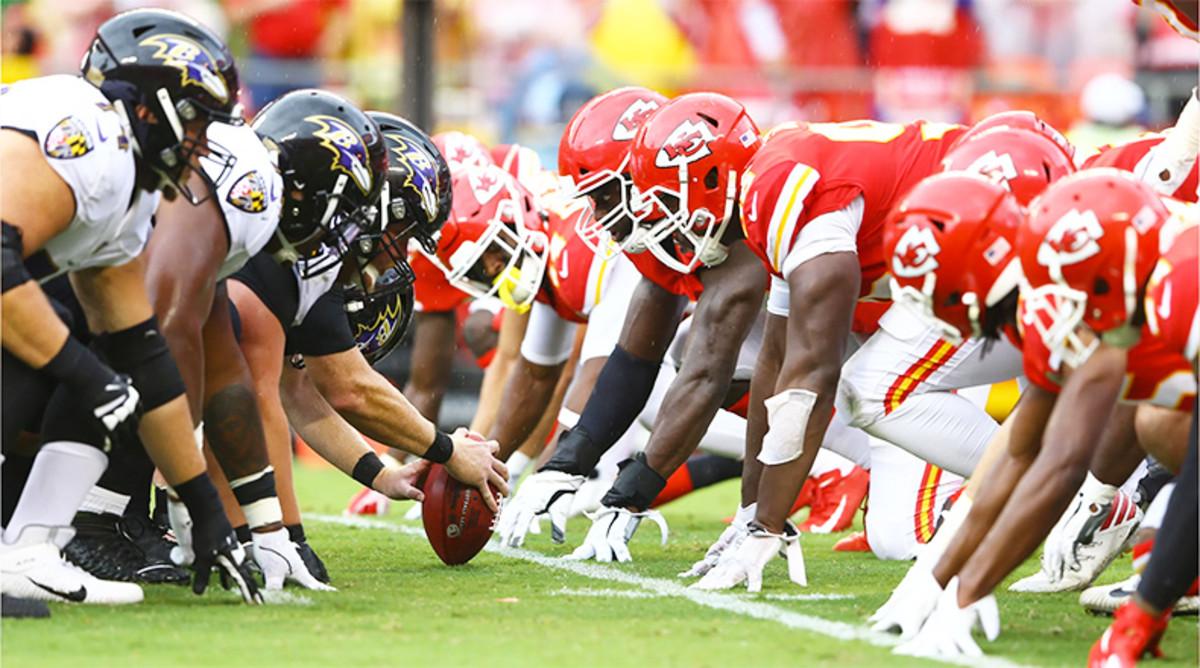 5 Greatest Kansas City Chiefs vs. Baltimore Ravens Games