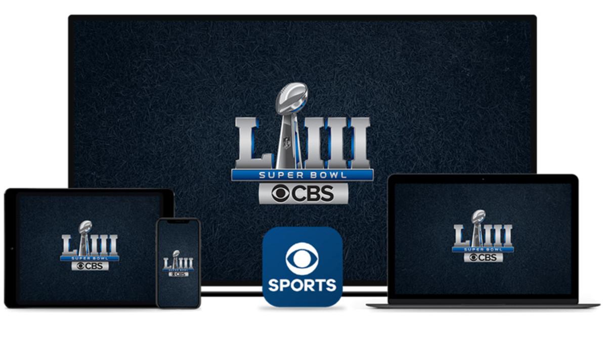 Live Stream Super Bowl on CBS