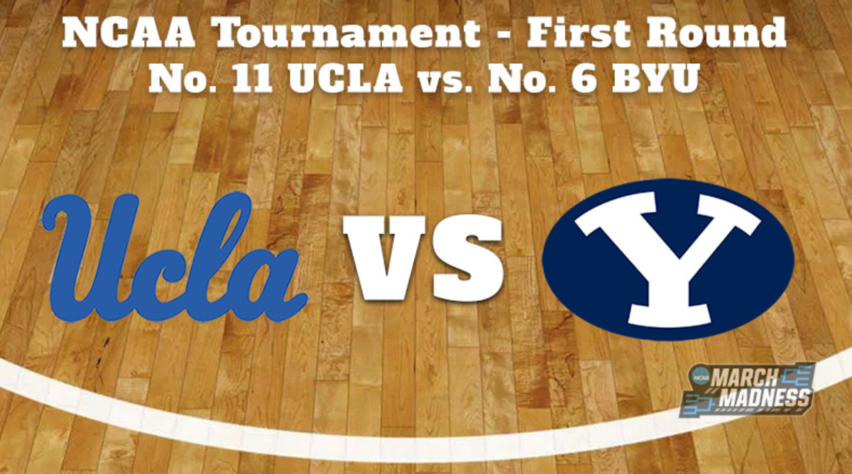 Our NCAA basketball experts predict, pick and preview the UCLA Bruins vs. BYU Cougars First Round game with tip-off time, TV channel and more.