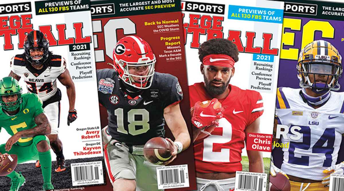 Athlon Sports' 2021 College Football Preview Magazines Available Now!