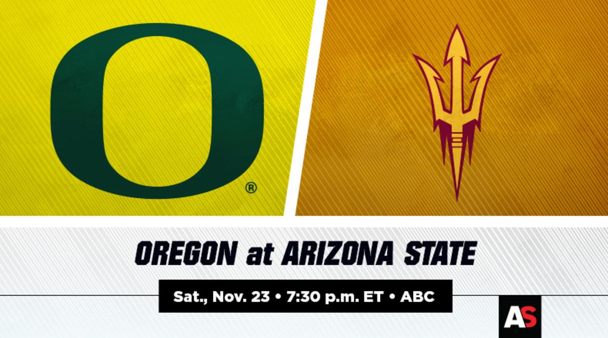 Oregon vs. Arizona State Football Prediction and Preview