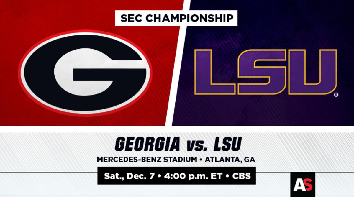 SEC Championship Prediction and Preview: Georgia vs. LSU